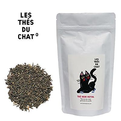 Thé noir royal - Thé noir du matin à la vanille (English breakfast tea). 100gr