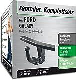 Rameder Komplettsatz, Anhängerkupplung Starr + 13pol Elektrik für Ford Galaxy (113931-05541-1)