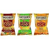 Snyder's of Hanover Pretzel Snack 3er Set