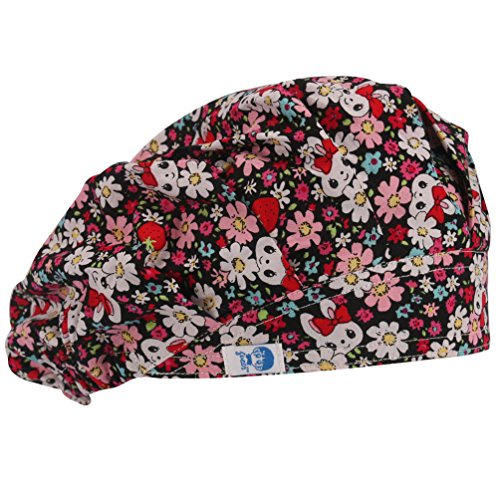 Guoer - Cappello a cuffia, motivo: coniglio,