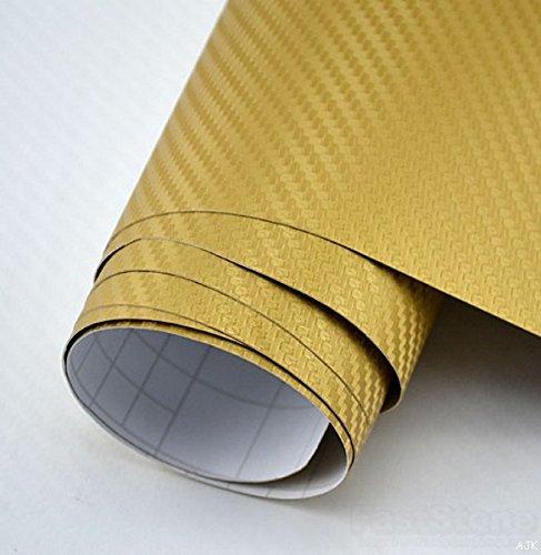 3D-dor-Fibre-Carbone-Texture-Emballage-Drap-Vinyle-Dcalque-Film