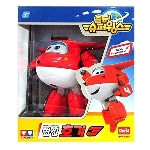 Super Wings Transforming Hogi Plane Hogi Toy by Super Wings