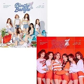 AOA [BINGLE BANGLE] 5th Mini Album 2 Ver SET CD+Poster+Book+Sticker&Postcard Set+PhotoCard+Tracking Number SEALED