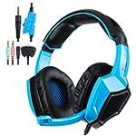 PS4 Gaming Headphone Headset KingTop...