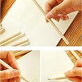 Taottao 50pcs HB Crayons de bois brut Fournitures scolaires Cadeau