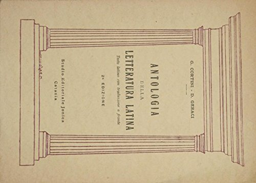 Antologia della letteratura latina