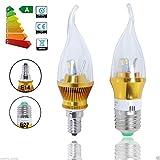 E14 LED Leuchtmittel Kerzenform Birne 6W warmweiß