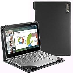 Navitech Housse étui Protection Simili Cuir Compatible avec HP Spectre 13 X360