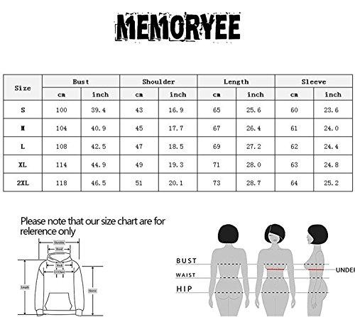 Memoryee - Sweat à capuche - Femme blanc 3