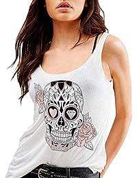 Camiseta de tirantes de Mujer Blanca Mexican White Edition