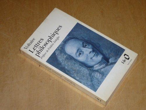 LETTRES PHILOSOPHIQUES.EDITION PRESENTEE,ETABLIE ET ANNOTEE PAR FREDERIC DELOFFRE par VOLTAIRE