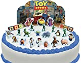 Cakeshop Vorgeschnittene und Essbare Disney Pixar Toy Story Szene Kuchen Topper (Tortenaufleger, Bedruckte Oblaten, Oblatenaufleger)