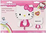 Amscan - Globo de helio Hello Kitty (Amscan International 2414001)