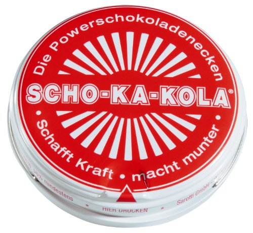 Preisvergleich Produktbild SCHO-KA-KOLA Zartbitter - 5 Dosen