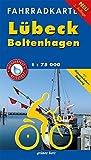 Fahrradkarte Lübeck, Boltenhagen: Mit Ostseeküsten-Radweg. Maßstab 1:75.000. Wasser- und reißfest. (Fahrradkarten) -