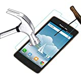 Acm Tempered Glass Screenguard For Panasonic P75 Mobile Screen Guard Scratch Protector