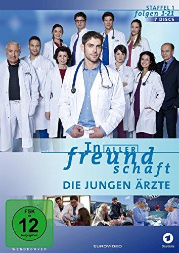 In aller Freundschaft - Die jungen Ärzte - Staffel 1.1/Folgen 1-21 [Edizione: Germania]