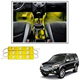 #6: Vheelocityin 9 LED Custom Cuttable Car Yellow Light for Interior/ Exterior For Ford Endeavour Old