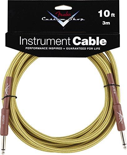 Fender 099-0820-028 Custom Shop 3m Inst. Cable Tweed - Custom Shop