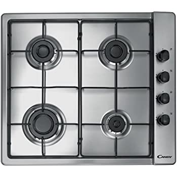 Candy CLG 64 SPX hob - hobs (built-in, Gas, Stainless steel, Stainless steel, Rotary)
