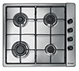 immagine prodotto Candy CLG 64 SPX hob - hobs (built-in, Gas, Stainless steel, Stainless steel, Rotary)