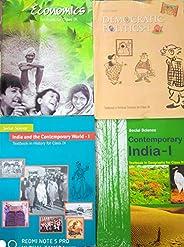 History + Geography + Politics + Economics NCERT for Class 9 [Paperback] NCERT