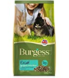 Burgess Excel Junior and Dwarf Nuggets with Mint Rabbit Food 10 kg
