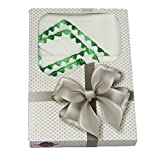 Molton Stoffwindeln gemuschelt 2er Pack-grün - Geschenk zur Geburt-12265