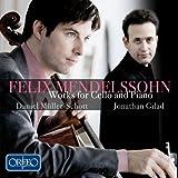 Oeuvres pour violoncelle et piano / Félix Mendelssohn | Mendelssohn-Bartholdy, Felix (1809-1847). Compositeur