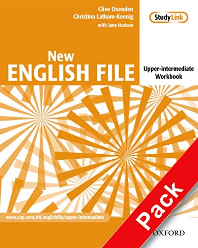 New english file : Upper intermediate workbook (1Cédérom) par Christina Latham-Koenig