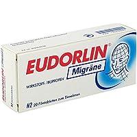 EUDORLIN Migräne 20 stk preisvergleich bei billige-tabletten.eu