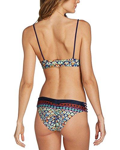 Frauen Zwei Stücke Separate Floral Stitching Der Bikini Set Schwimmanzug As Picture