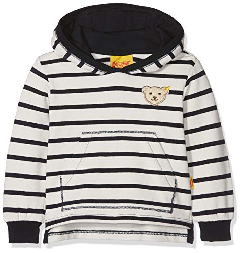 Steiff Steiff Baby-Jungen Sweatshirt 1/1 Arm, Blau (y/d Stripe|Multicolored 0001), 62