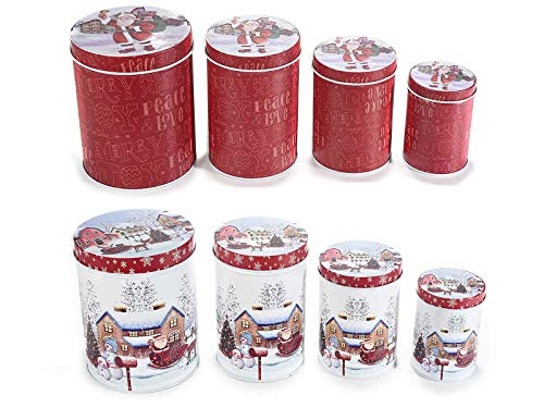 Ideapiu 4 Großhandel Keramik Weihnachtsbecher Misure:Ø 9 cm x 9,5 H Capacità: 350 ml