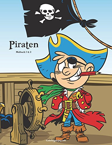 Piraten Malbuch 1 & 2 -
