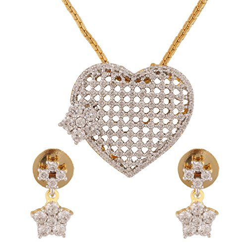 swasti-jewels-damen-american-diamant-cz-traditionellen-fashion-schmuck-set-anhanger-ohrringe-gold