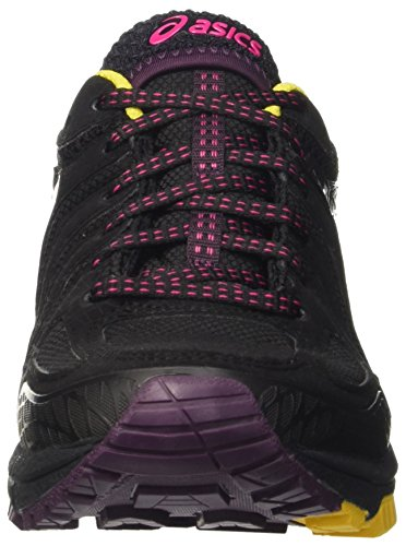 Asics Damen Gel-Fujiattack 5 G-Tx Gymnastik Viola (Eggplant/Sport Pink/Lemon)
