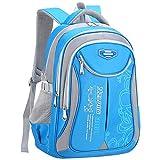 YUKIKO Schulrucksack, Kinderrucksack Daypack Schultasche Grundschule Backpack Schulranzen für Mädchen Jungen Teenager Jugendliche -für Klasse 3-6 Studenten