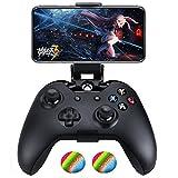 tpfoon Xbox One Controller Faltbare Handy Clip, Smartphone Clamp Halterung für iPhone/Samsung/Sony/LG/Huawei–Kompatibel mit SteelSeries Nimbus Wireless Controller