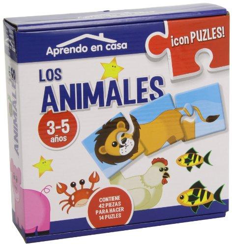 APRENDO EN CASALOS ANIMALES PUZLES EDUCATIVOS (3-5 años) por Mónica MARTÍNEZ VICENTE