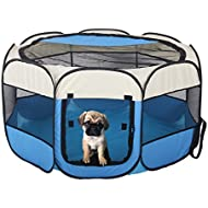 Floving Portable Foldable Pet Playpen Indoor/Outdoor use -8 Panel,Water resistant