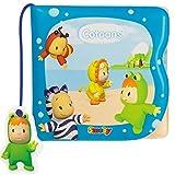 Unbekannt Baby Bade Spielzeug Magisches Badebuch mit Farbwechsel ab 32° Wassertemperatur • Badespaß Wasserspaß Baden Kinder Buch