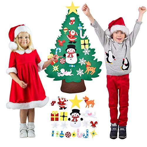 Fieltro Árbol De Navidad Decoración De Pared De