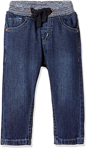Donuts Baby Boys' Straight Regular Fit Cotton Jeans (272235145 DK-BLUE 06M)