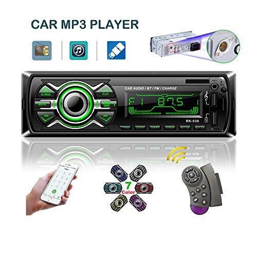 LSLYA 7 Retroiluminación en Color Coche Stereo Auto Radio Universal p