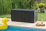 Keter Auflagen- und Universal Rattan Style Box Capri, 305 L, grau - 2