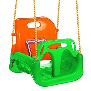 ANCHEER 3-in-1 Sitzschaukel für Kleinkinder, Kinder und Jugendliche abnehmbare aufhängende Sitz Outdoor (Grün)