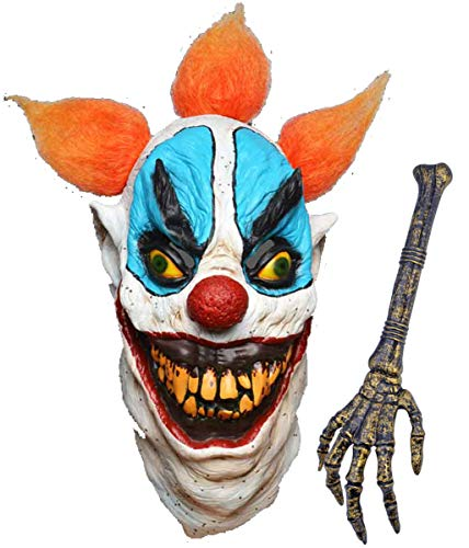Deluxe Nerd Zubehör Kit - labreeze Fat Faced Evil Clown Maske