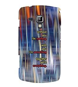 PrintVisa Designer Back Case Cover for Samsung Galaxy S Duos 2 S7582 :: Samsung Galaxy Trend Plus S7580 (orange purple sliver yellow maryoon)