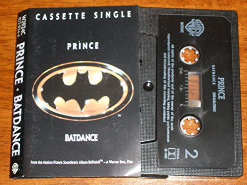 Prince Batdance Cassette Single